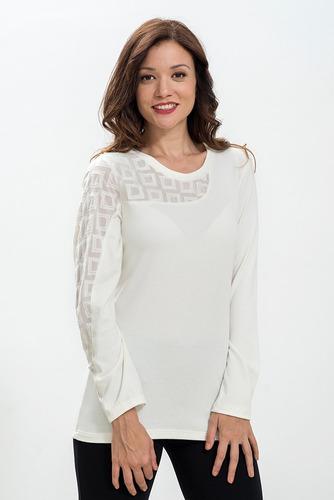 fa60622b5eb3 Remeras Mangas Largas De Vestir Mujer - Ropa y Accesorios en Mercado ...