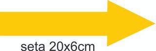 100 Adesivo Tipo Seta De Identificar Canos De Água É De Casa