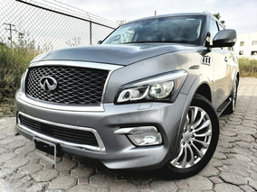 Infiniti Qx80 5.6l Perfection 8 Pasaj At 2017 Autos Puebla