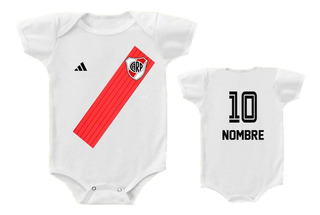Body Bebé River Plate Camiseta Personalizado