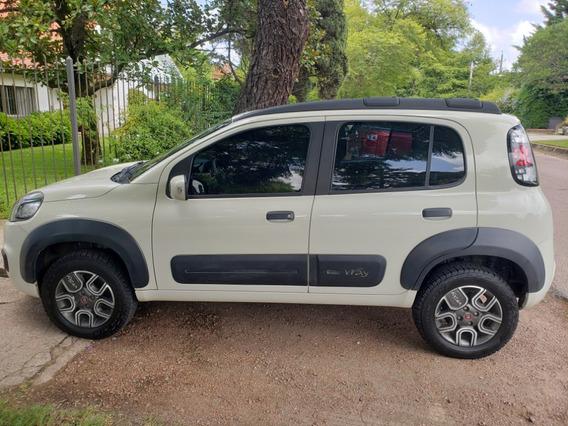 Fiat Uno Way 1.4 2017 Full Blanco Kalahari