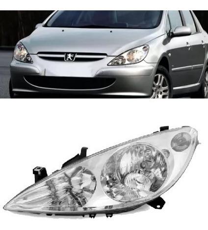 Farol Peugeot 307 2002 2003 2004 2005 2006 Lado Esquerdo