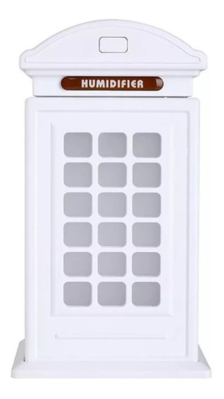 Difusor Humidificador Aromaterapia Cabina De Telefono Led /e