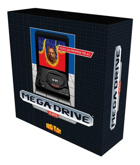 Vídeo Game Sega Mega Drive Tectoy 1700 Jogos C/nfe F. Grátis