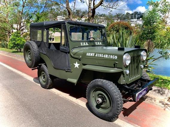 Jeep Willys Cj3-b - Cara De Cavalo - 1954 - Colecionável