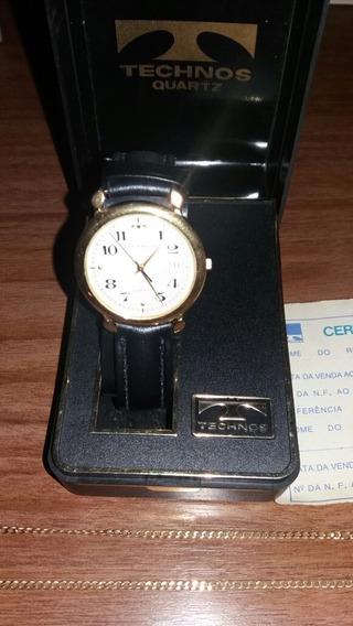 Relógio De Pulso Technos Em Ouro
