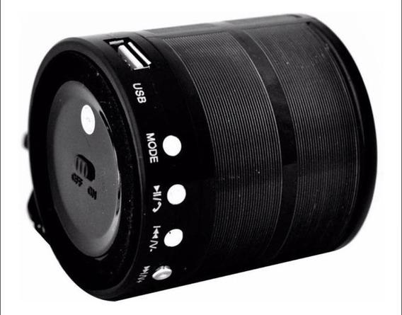 Mini Caixinha Som Bluetooth Portatil Usb Fm Mp3 P2 Sd Rádio