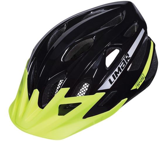Casco Bicicleta M T B Limar 545 Reflective Negro L