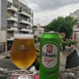 Cerveza Alemana St. Wendeler Lager 473cc (caseros)