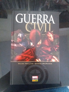 Hq Guerra Civil Edicap Marvel Deluxe