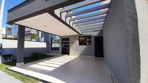 Imagem 1 de 24 de Casa Com 3 Dormitórios À Venda, 105 M² Por R$ 640.000 - Jardim Park Real - Indaiatuba/sp - Ca2290