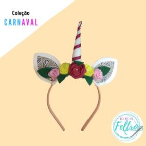 Kit 5 Tiaras Unicórnio (fantasia/carnaval)
