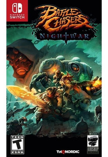 Battlechasers : Nightwar - N Switch -juego Fisico -inmediato