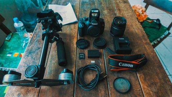 Canon T5 + Lente Kit + Steadicam + Cartão 32gb A Vista 1650