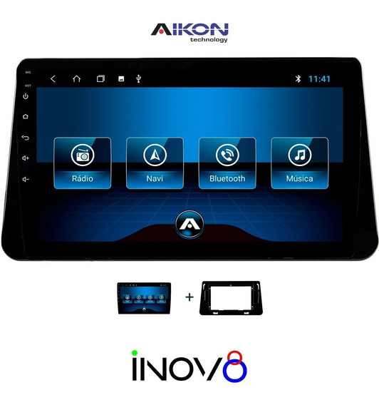Multimidia Kicks Aikon Android 8 Wifi Tv Frete Gratis 12x