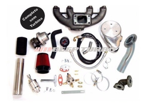 Kit Turbo Beep Turbo Ap Carburado Transversal Sem Turbina