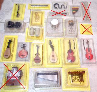 Instrumentos Musicales Miniaturas (salvat)