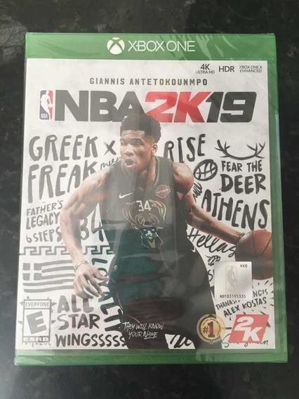 Nba 2k19 - Xbox One - Mídia Física