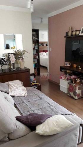 Apartamento Á Venda Vila Ema Com 02 Dormitórios - Ap1026