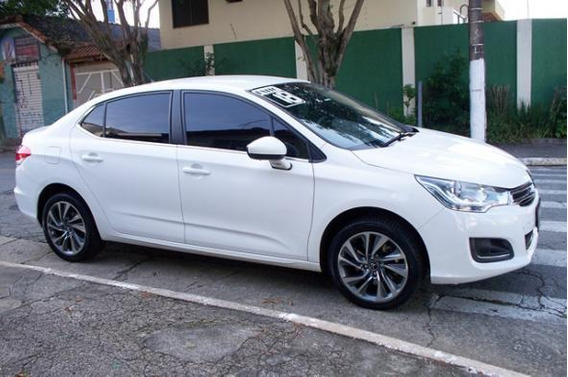 Citroen C4 Lounge Tendance 1.6 Turbo Automatico Branco 2018