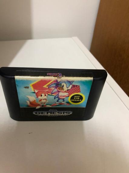 Sonic The Hedgehog 2 Sega Mega Drive Genesis Original