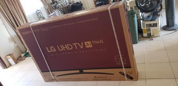 Tv LG 65 Polegadas, 4k Hdr Bluetooth Um7470