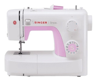 Máquina de costura Singer Simple 3223 Branco/Rosa 220V