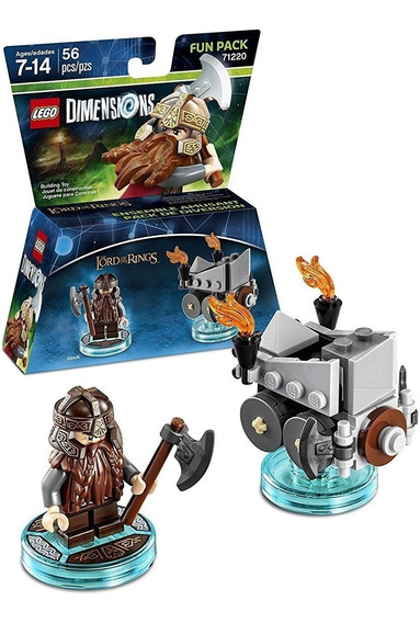 Lego Dimensions - Lord Of The Rings - Gimli Fun Pack