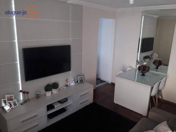 Apartamento Com 2 Dormitórios À Venda, 52 M² Por R$ 214.000 - Jardim América - São José Dos Campos/sp - Ap8648