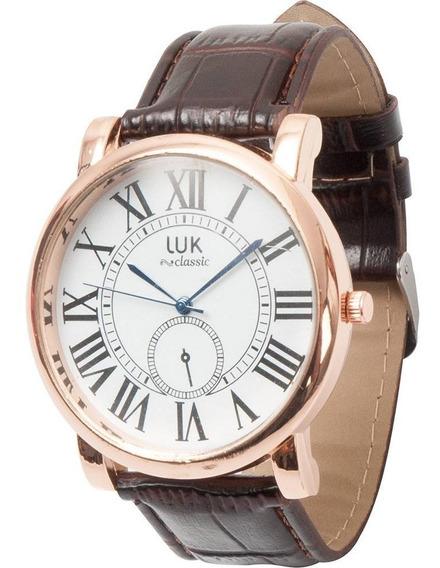 Relógio Masculino Luk Analógico Clássico Gs1elwj4624br