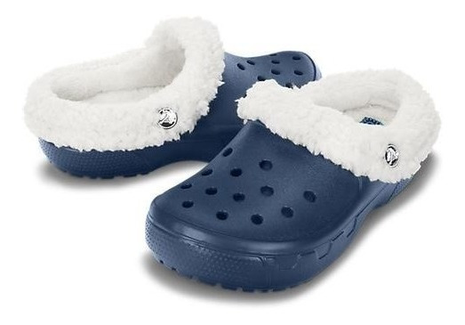 Crocs Mammoth Niños Zuecos Goma Original Felpa Super Suaves