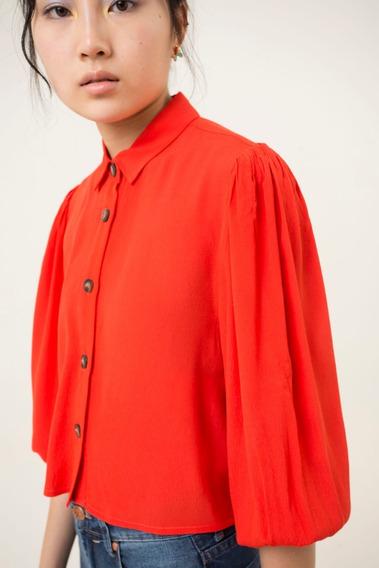 Camisa Atria Rojo Las Pepas
