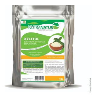 Xilitol Cristal Puro 1kg Original Importado