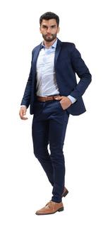Camisa Entallada Con Saco Chupin Y Zapatos Charol Import