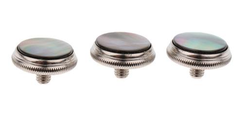 Imagen 1 de 8 de 3x Botones De Dedos De Trompeta Piezas Durable Para