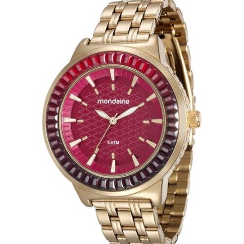 Relógio Mondaine Dourado Feminino 76624lpmvde2