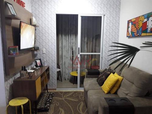 Apartamento À Venda, 48 M² Por R$ 199.999,00 - Jardim São Miguel - Ferraz De Vasconcelos/sp - Ap0911
