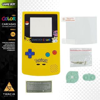 [ Carcasa Gameboy Color ] Pokémon Pikachu Gbc | Tracia