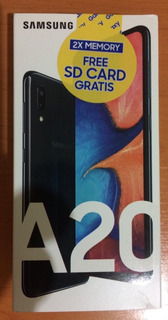 Teléfonos Samsung Galaxy A20 32gb + Memoria 32gb