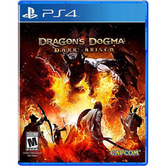 Dragons Dogma Dark Arisen Ps4 Midia Fisica Novo Lacrado