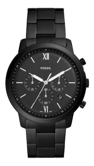 Relógio Fossil Masculino Neutra Chrono Preto Fs5474/1pn