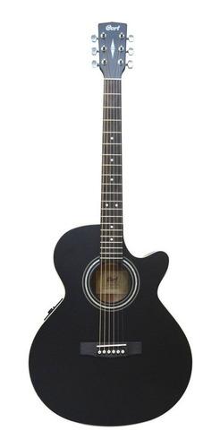 Guitarra Electroacústica Sfx-me Bks Negra  Cort
