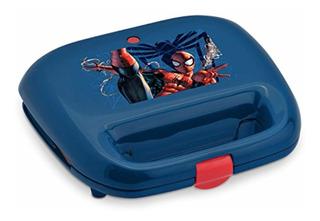 Marvel Mvs-2, Spiderman Waffle Maker, Azul Rojo