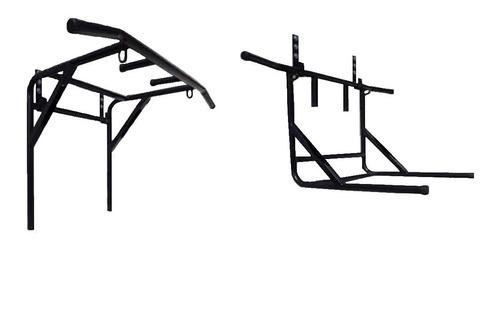 Imagen 1 de 8 de Barra Dominadas Paralelas 2 En 1 Abdominales + Regalos