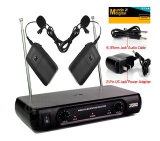 Microfonos Inalambricos Con Transmisor De Solapa