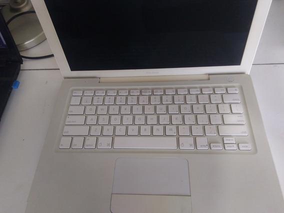 Carcaça Do Apple A1181 Com Tela Original Sem Flat Do Teclado