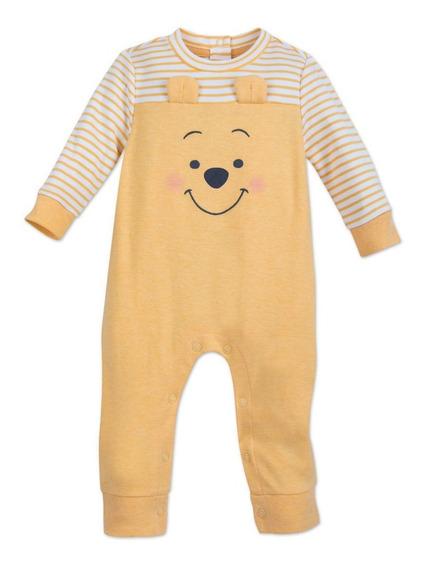 Macacão Pijama Bebê Menino Urso Pooh -original Disney Store