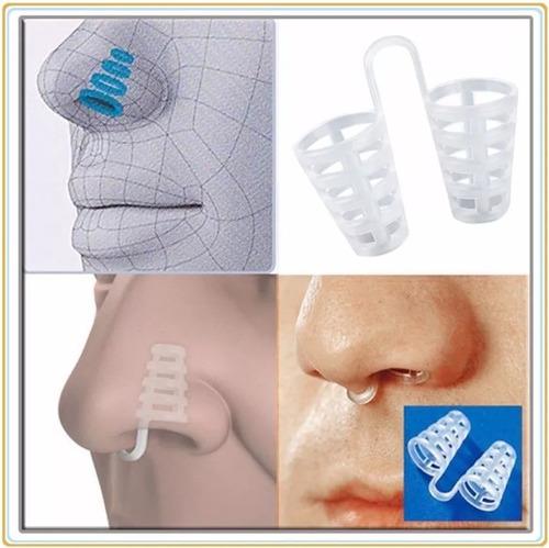 Imagem 1 de 7 de Ofertão ( 4 Pç ) Clipe Clip Nasal Anti Ronco Dilatador Nasal