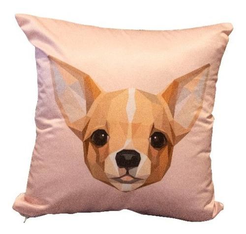 Imagen 1 de 5 de Cojín Decorativo Chihuahua Love 40 Cm