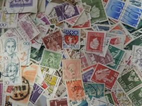 Lote Com 2100 Selos Regulares Universais (com Repetições)
